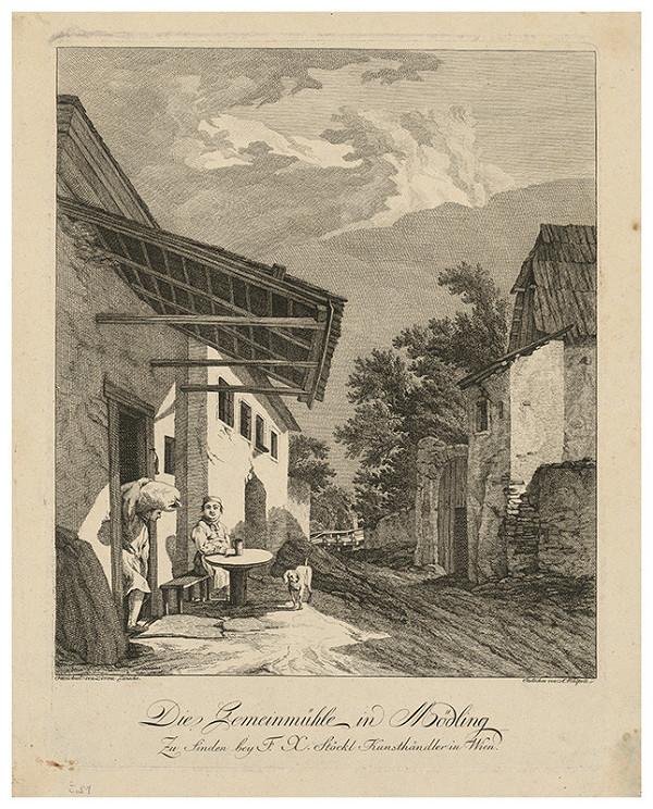 A. Wohlfarth, Lorenz Janscha – Obecný mlyn v Mödlingene