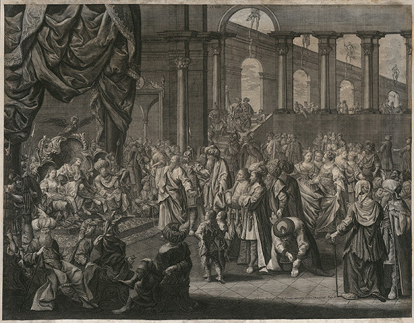 Johann Daniel Herz st. - Biblický výjav