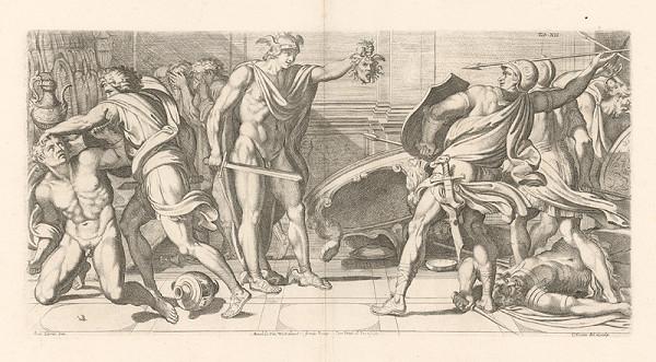 Carlo Cesio, Annibale Carracci – Perseus a Phineus,Tab.XII.