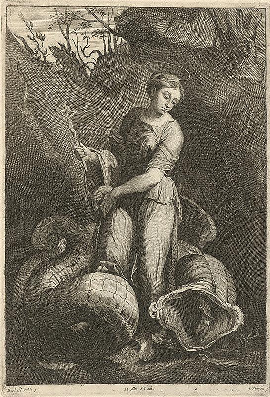 Raffael, David Teniers ml., Jan van Troyen – Svätá Margaréta s drakom