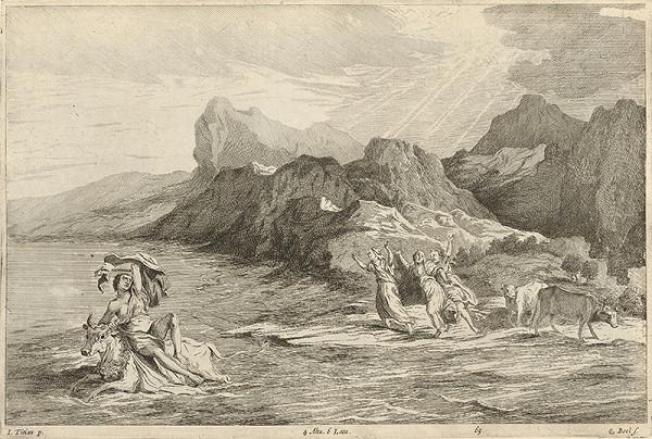 Titian, Quirin Boel, David Teniers ml. – Únos Európy