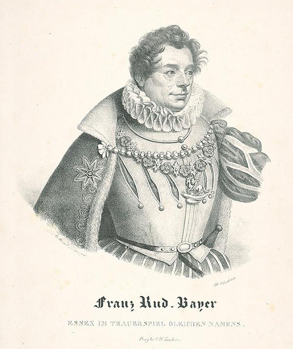 Josef Schödl, Antonín Machek - Podobizeň Franza Rudolfa Bayera -herec