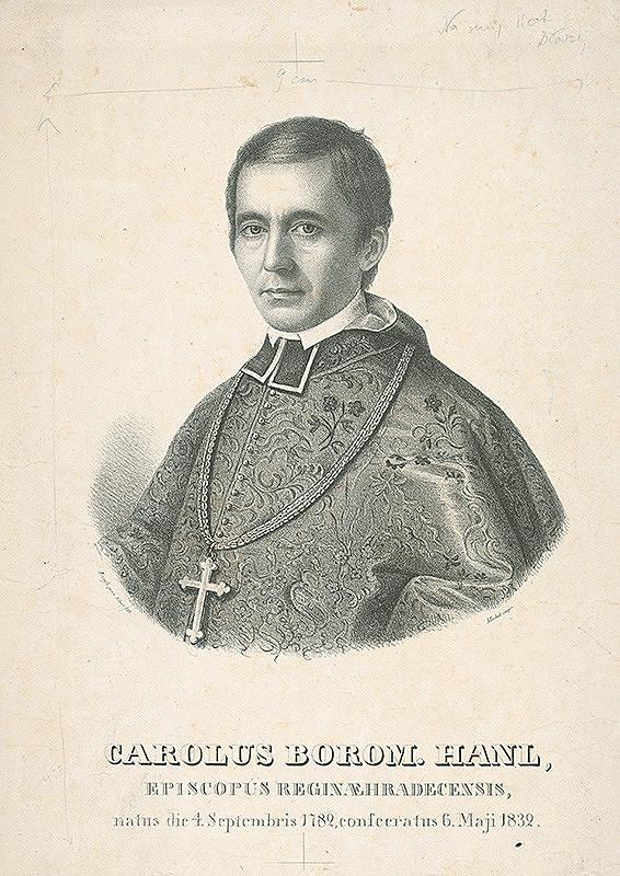 František Šír, Anton Einsle – Podobizeň Carolusa Borom.Hanla kráľovský biskup