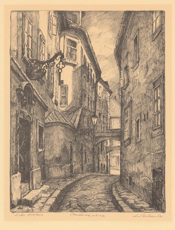 Ľudovít Križan – Baštová ulica