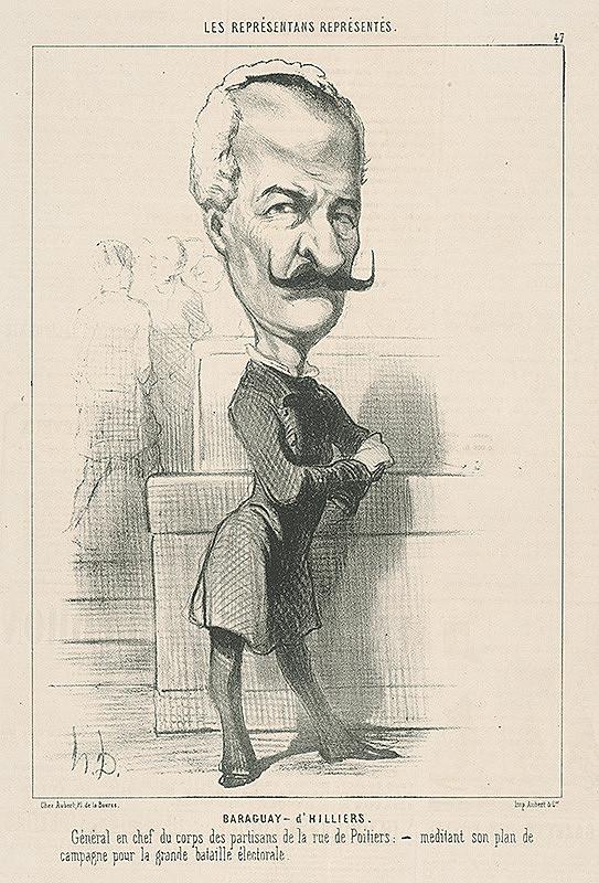 Honoré Daumier – Baraqvay D Hilliers
