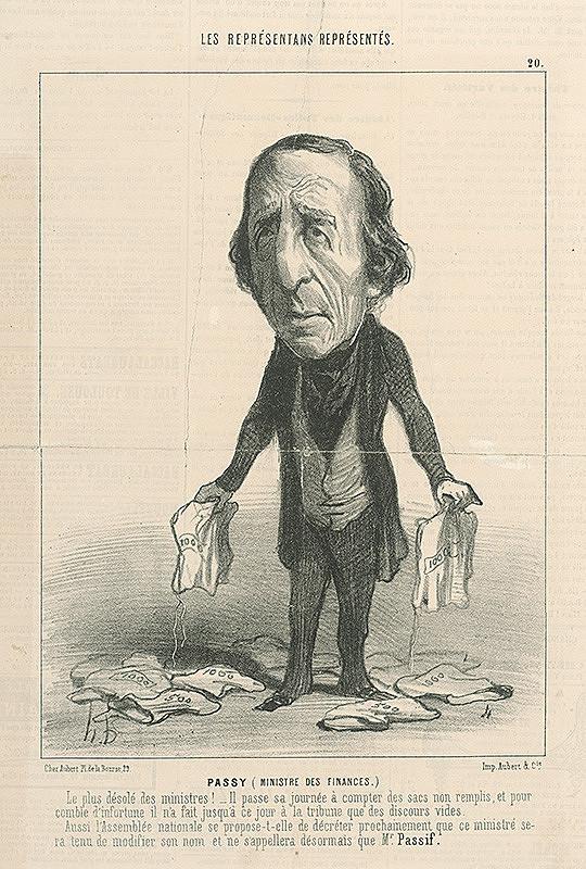 Honoré Daumier – Passy