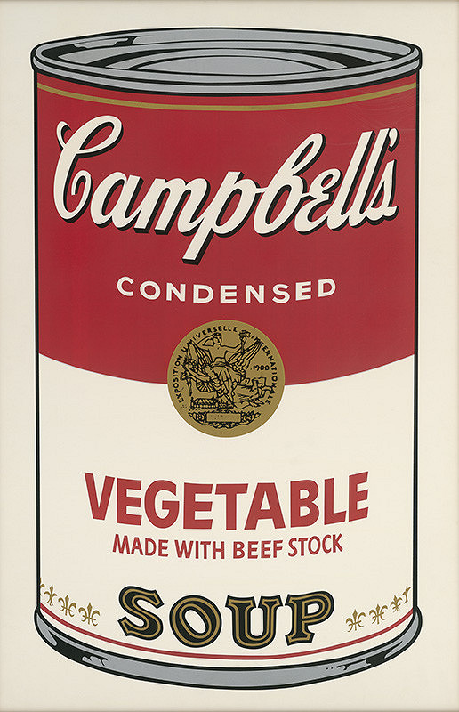 Andy Warhol - Campbell's Soup
