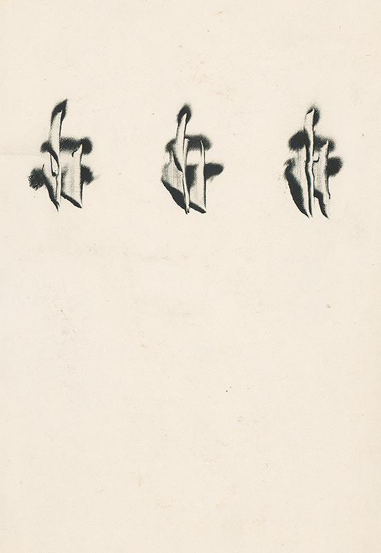 Štefan Schwartz - Ilustrácia ku knihe: Alexej Remizov: Schwestern im Kreuz