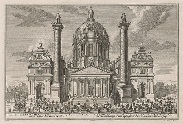 Salomon Kleiner, Hieronymus Sperling – Kostol sv. Karola Boromejského vo Viedni