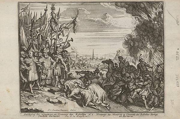 Romeyn de Hooghe, Neznámy grafik – Holdovanie Uhrov Turkom