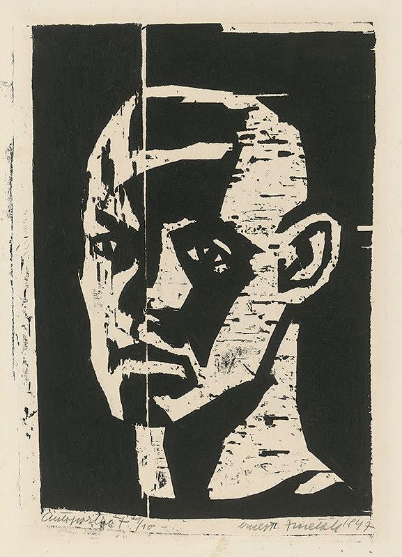 Ernest Zmeták – Self-Portrait