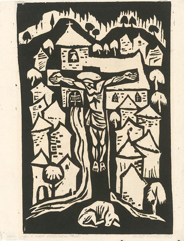 Ernest Zmeták – Cross by the Village