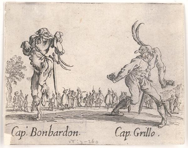 Jacques Callot - Bonbardon a Grillo