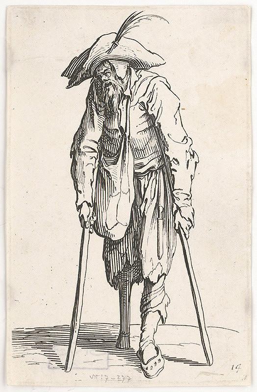 Jacques Callot – Beznohý žobrák
