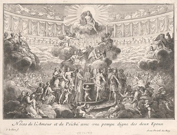 Sebastien Le Clerc st. – Triumf Amora a Psyché