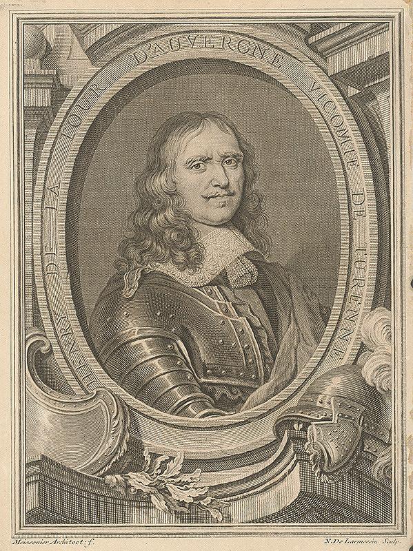 Nicolas de L`Armessin, Juste Auréle Meissonier - Henrich de la Tour D`Auvergne