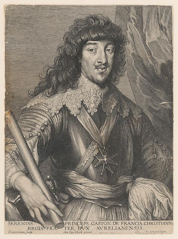 Anthony van Dyck, Lucas Vorsterman – Gaston de Francia