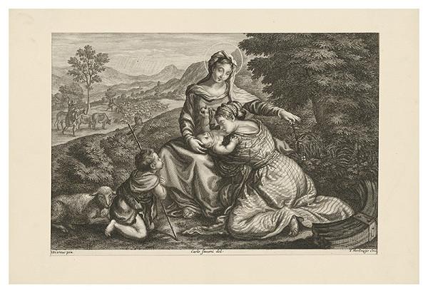 Teodor Vercruys, Carlo Sacconi, Titian – Madona s Jánom Krstiteľom
