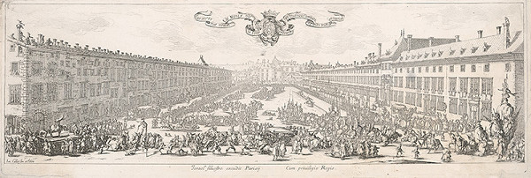 Jacques Callot - Námestie Carriére v Nancy