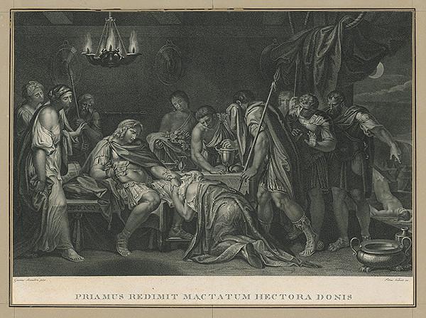 Pietro Vedovato, Gavin Hamilton – Priamus prosí o telo Hectora