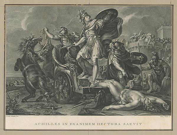 Pietro Vedovato, Gavin Hamilton – Triumf Achila nad Hectorom