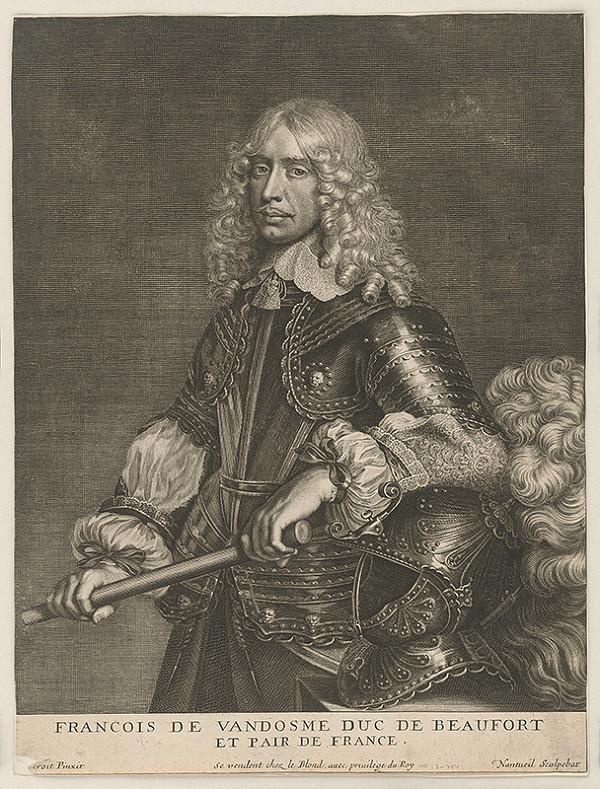 Robert Nanteuil, Naqueret – Francois de Vandosme duc de Beaufort