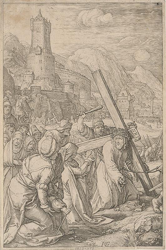 Hendrick Goltzius - Nesenie kríža (9)
