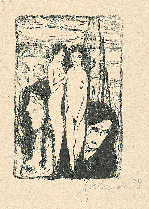 Mikuláš Galanda – Ženské metamorfózy
