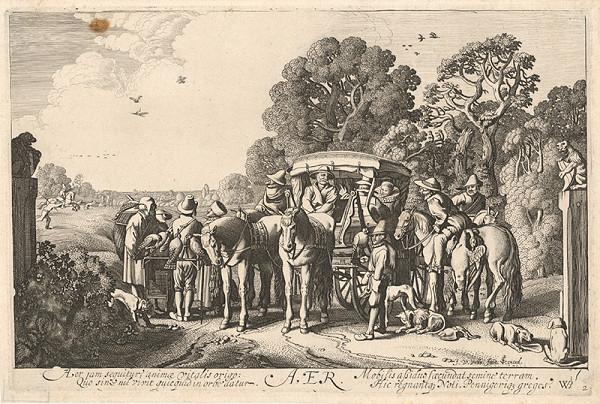 Jan van de Velde ml., Willem Pietersz Buytewech - Vzduch