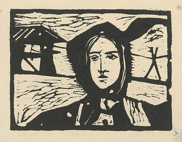 Vincent Hložník – Dievča pri Váhu