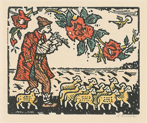 Ľudovít Fulla – Pastierik z Pohronia