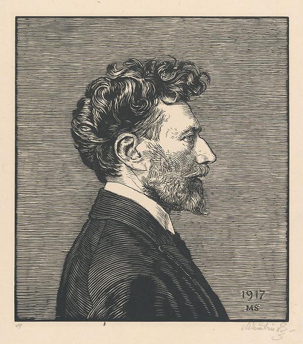 Max Švabinský - Autoportrét