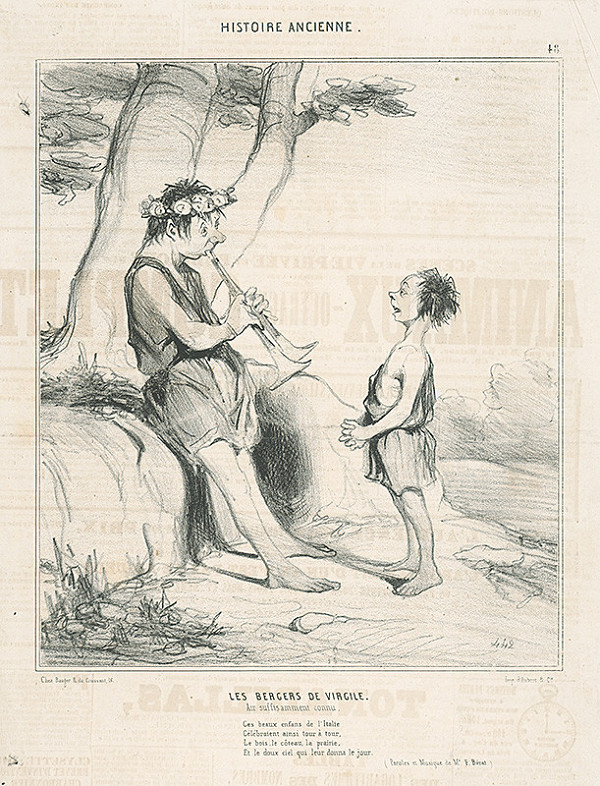 Honoré Daumier - Pastieri