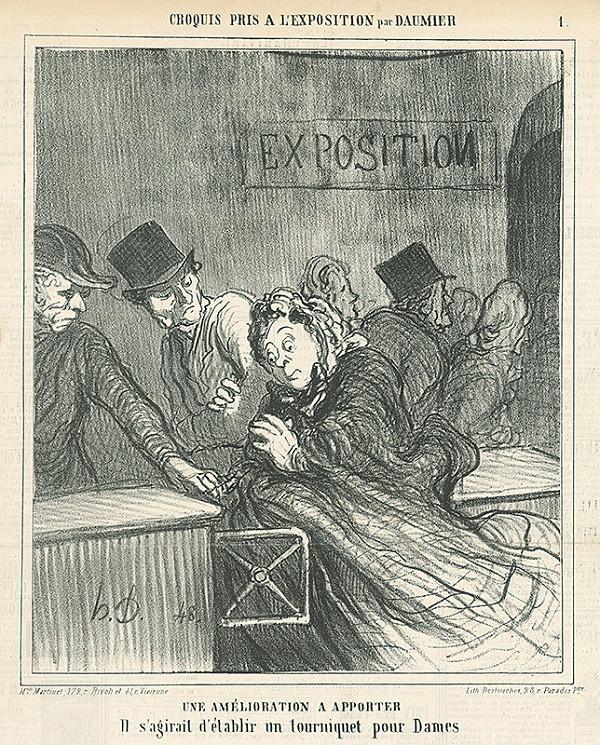Honoré Daumier – Návrh na zlepšovák
