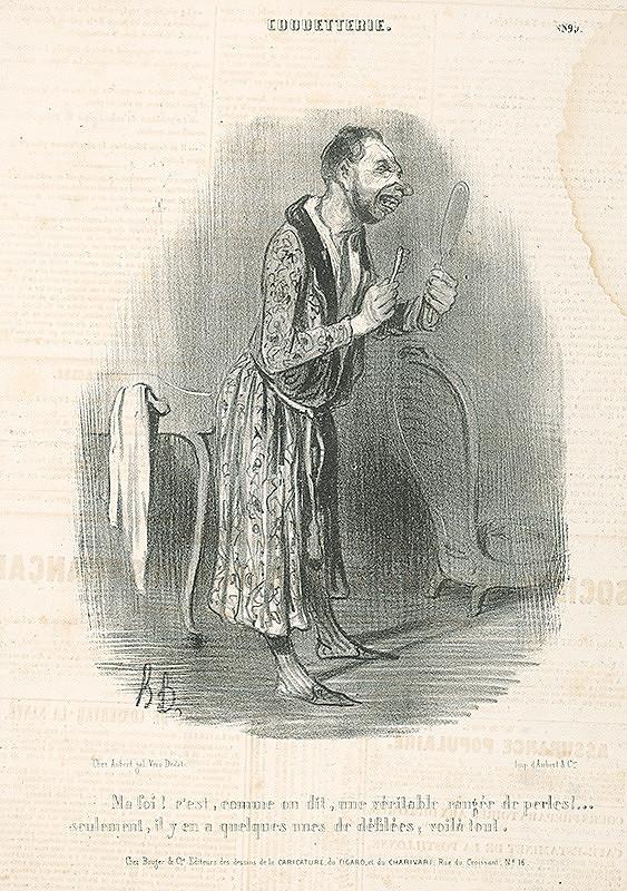 Honoré Daumier – Zuby