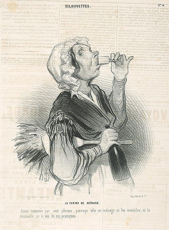 Honoré Daumier - Posluhovačka