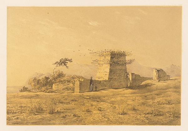 Karol Ľudovít Libay – Brehy Nílu pri Beni Halal