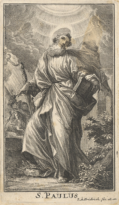 Jacob Andreas Fridrich – Svätý Pavol