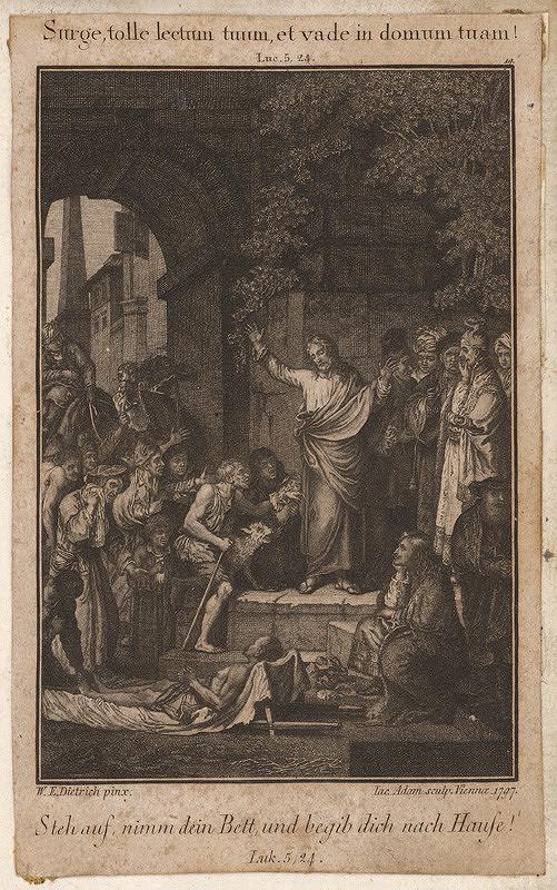 W. E. Dietrich, Jacob Adam – Uzdravenie chromého
