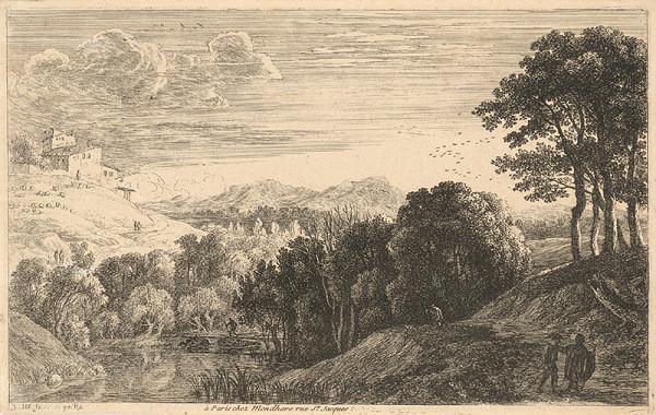Herman van Swanevelt – Krajina so západom slnka