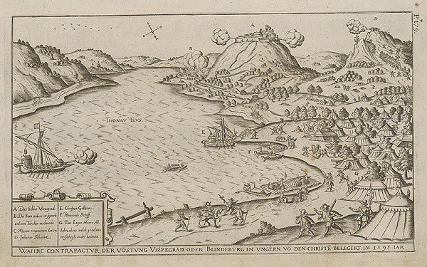 Paul Fürst, Lucas Schnitzer - Obliehanie pevnosti Visegrad roku 1595
