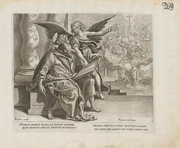 Claes Jansz. Visscher - Svätý Matúš