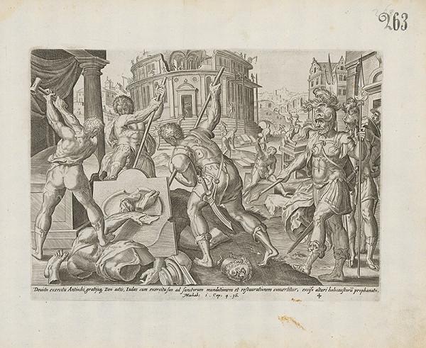 Claes Jansz. Visscher - Machabi i.Cap. 4. 36