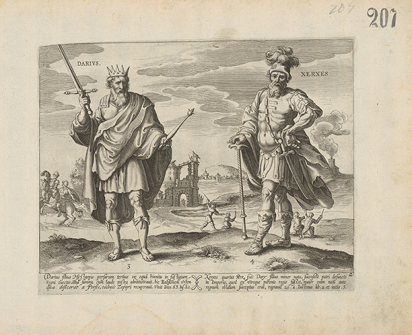 Claes Jansz. Visscher – Darius a Xeres