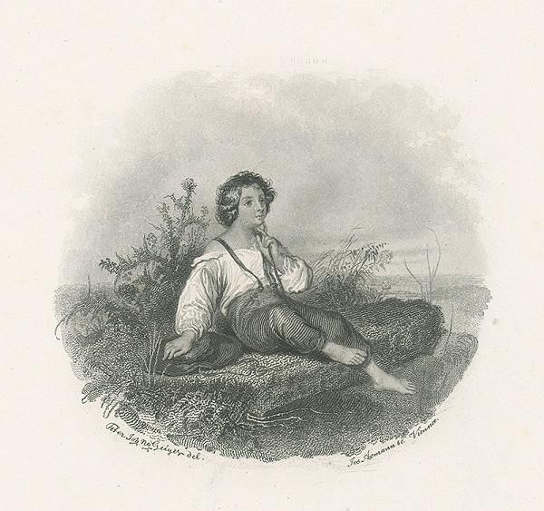 Josef Axmann, Peter Johann Nepomuk Geiger – Ilustrácia ku Stifterovi II
