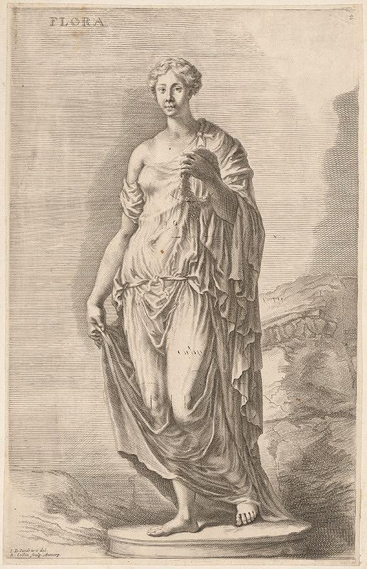 Richard Collin, Johann Jacob von Sandrart – Flora