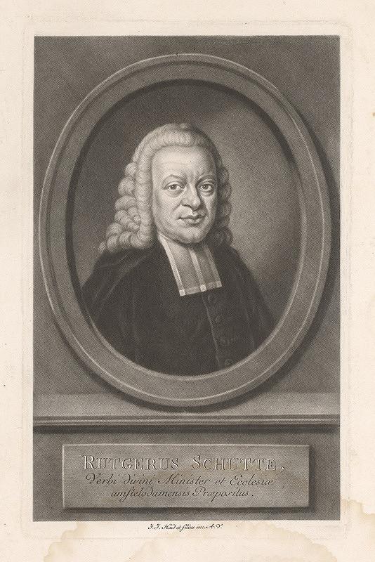 Johann Jacob Haid – Rutgerus Schutte
