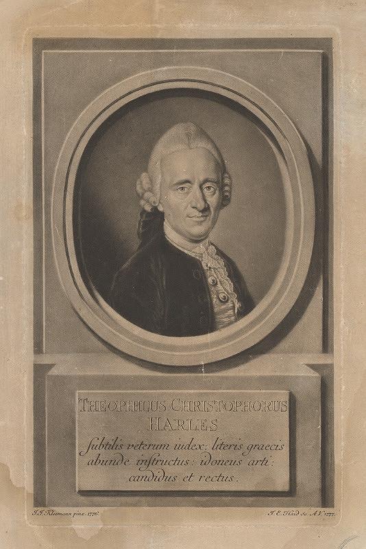 Johann Elias Haid, Johann Jacob Kleemann - Theophilius Christophorus Harles