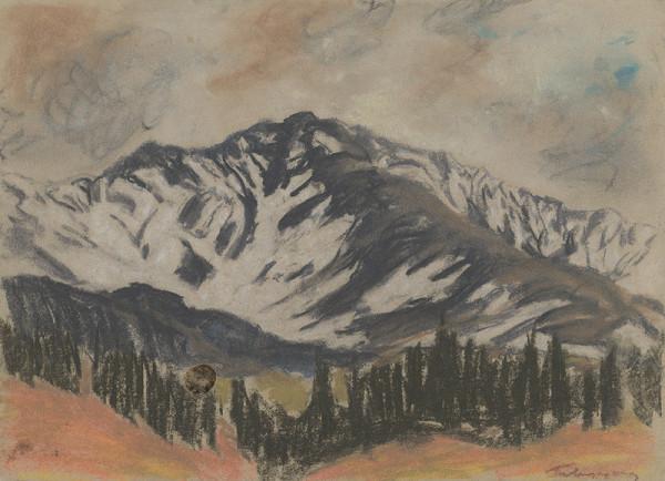 Zolo Palugyay - Motif from the High Tatras