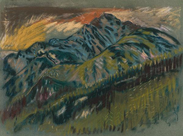 Arnold Peter Weisz-Kubínčan - The Roháče Mountains